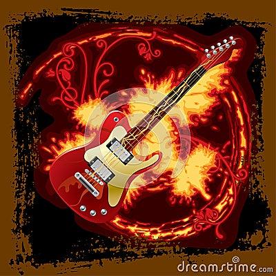 电热炉吉他