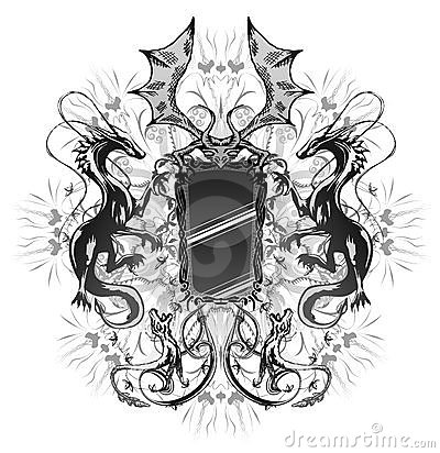 καθρέφτης δράκων