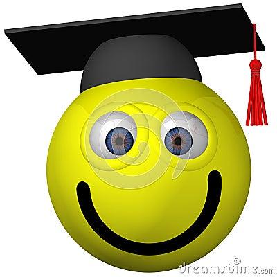 毕业生面带笑容