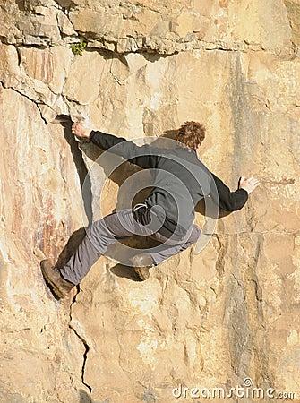 登山人释放
