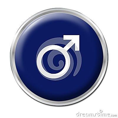 мужчина кнопки