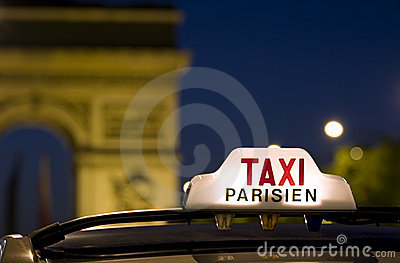 巴黎出租汽车