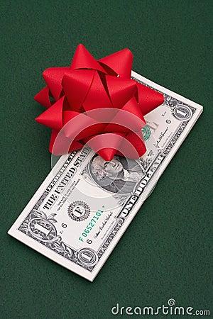 деньги подарка