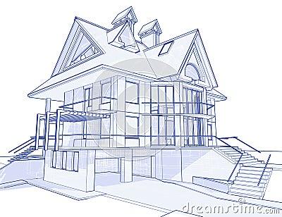 σπίτι σχεδιαγραμμάτων σύγχ