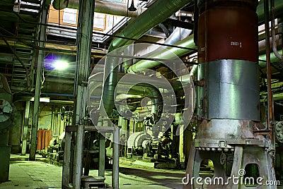 背景化工重工业工厂 库存照片 - 图片: 6391740