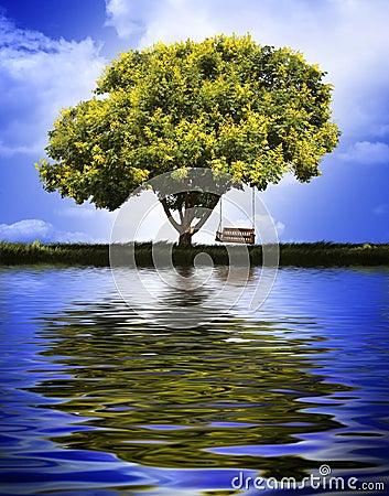 摇摆结构树