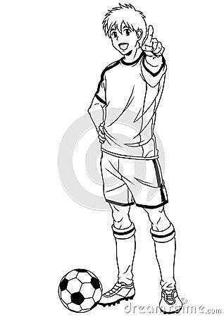 橄榄球漫画运动员码彩打不肉bg足球漫图片