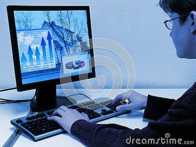 计算机工作