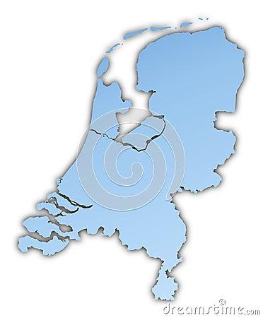 Нидерланды карты