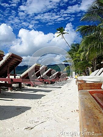 красивейший курорт дня тропический