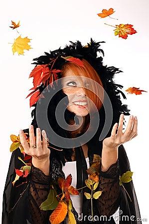 红头发小女孩qq表情分享展示图片