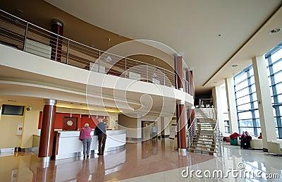 旅馆休息室