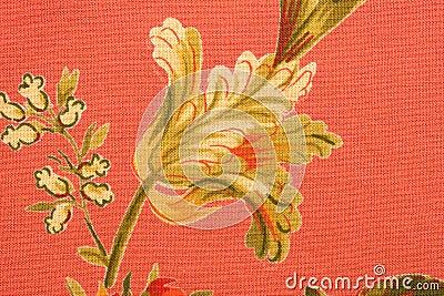 ткань флористическая