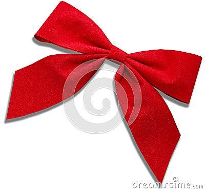 弓布料红色
