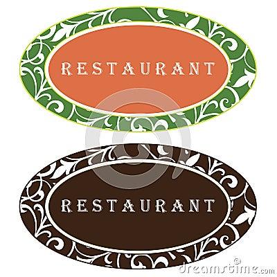 设计徽标餐馆