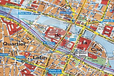 χάρτης Παρίσι