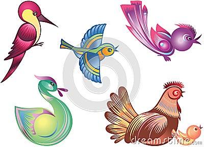 χρώμα πουλιών
