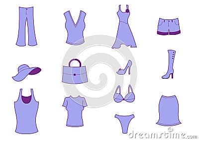 Иконы одежды и вспомогательного оборудования