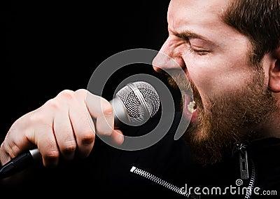 男性音乐摇滚歌手