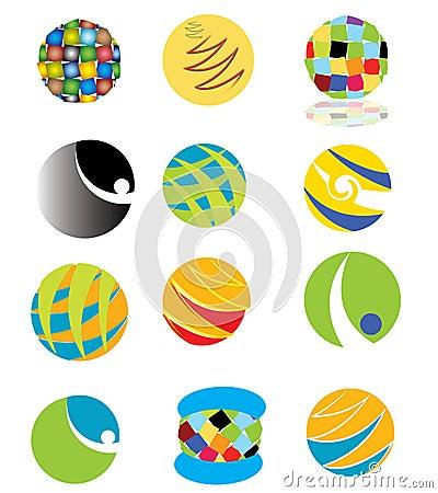 цветастые логосы