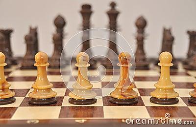 пешки шахмат доски