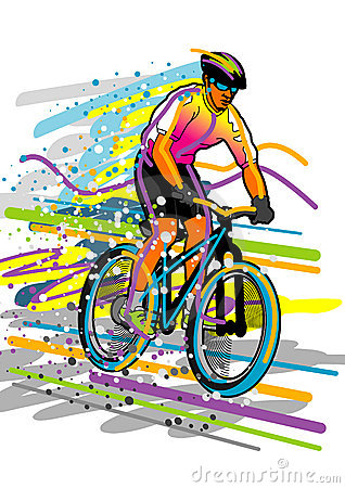 спорт серии велосипедиста