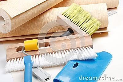 工具加工多种贴墙纸