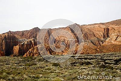 снежок Юта каньона