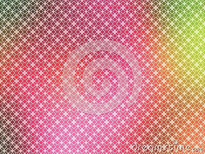 绿色流行粉红墙纸黄色