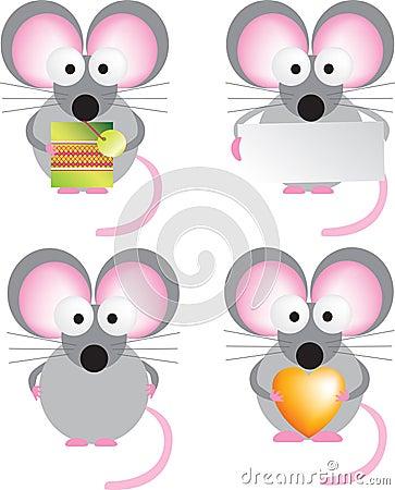 комплект мыши
