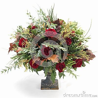 巴洛克式的花束秋天
