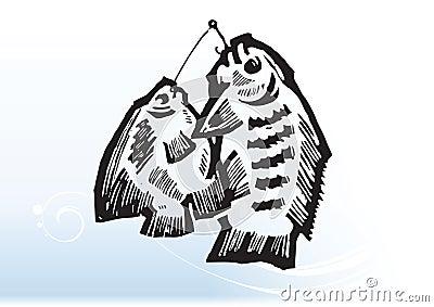 Ψάρια στα αγκίστρια