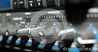 средства оборудования записывая звук