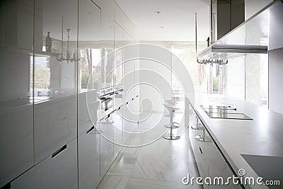 大当代厨房现代白色