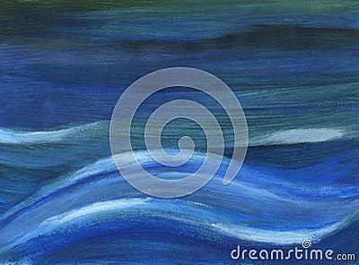 μπλε βαθιά κύματα
