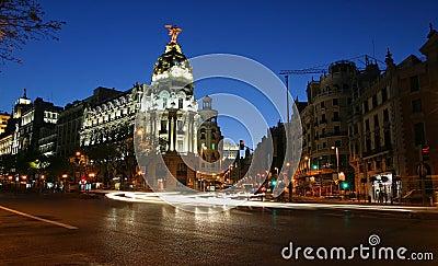 νύχτα της Μαδρίτης