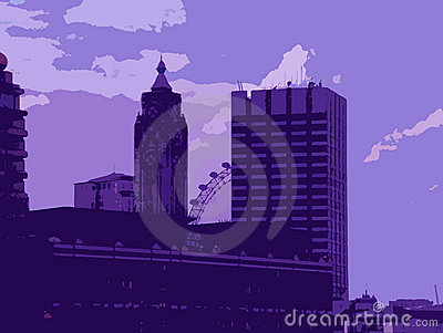 Иллюстрация Лондон