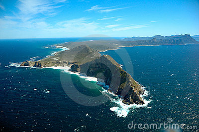 非洲南海角的点