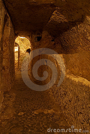 地下墓穴基督徒马耳他拉巴特