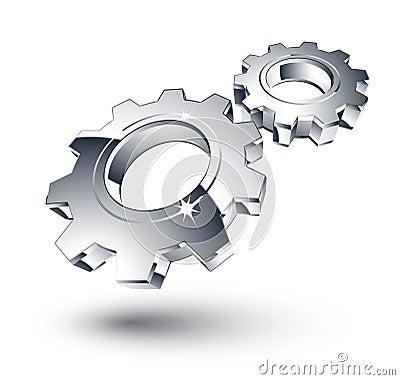 镀铬物齿轮