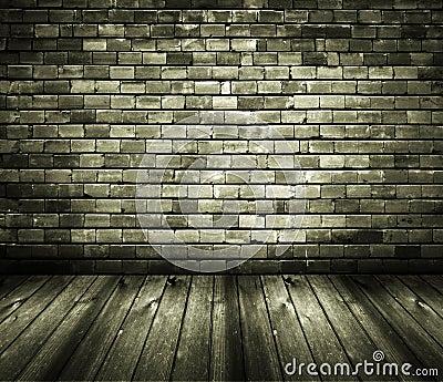 木砖楼层房子内部土气的墙壁图片
