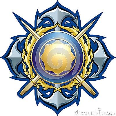 海军样式徽章