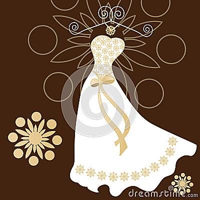 礼服现代接触传统婚礼