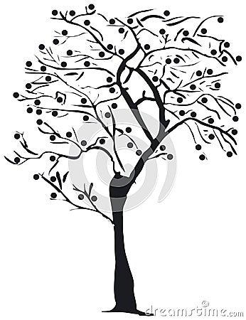 δέντρο σκιαγραφιών