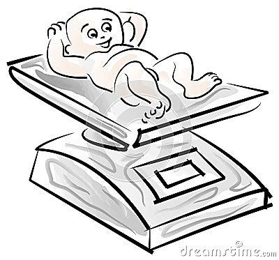 βάρος μωρών