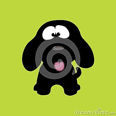 шаловливый щенок