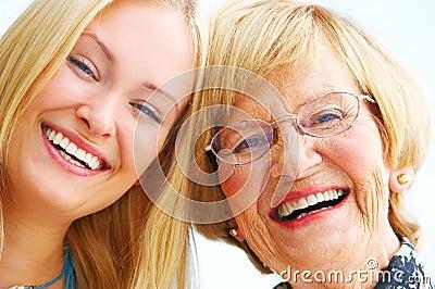 Nonna e figlia