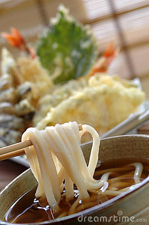 Free Noodle Udon Royalty Free Stock Photography - 3098477