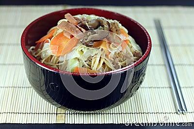 Noodle vegetable