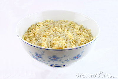 Bowl of noodles